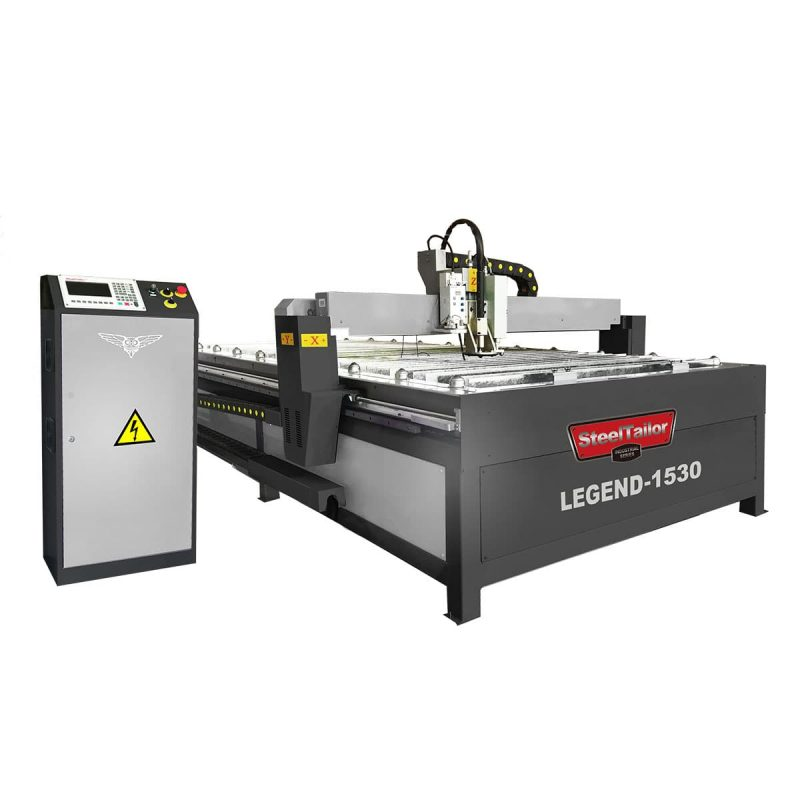 CNC table plasma cutting and marking machine