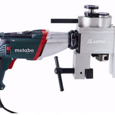 Automatic pipe beveling machine Metabo motor
