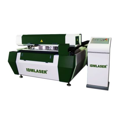 Laser cutting and marking machine