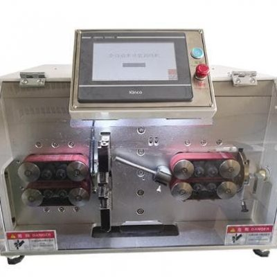 Automatic inner and outer sheathed cable stripping cutting machine