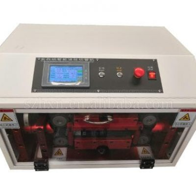 automatic bellows plastic pipe PVC tube cutting machine